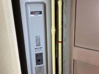 電気温水器交換工事 三菱 SRG-375G 東京都練馬区