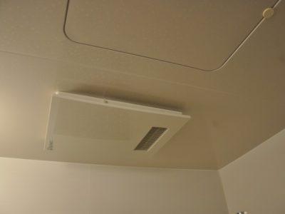 洗濯物を干せない今こそ 浴室乾燥換気扇