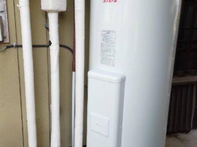 電気温水器交換工事 四変テック SN4-3716ML 茨城県つくば市