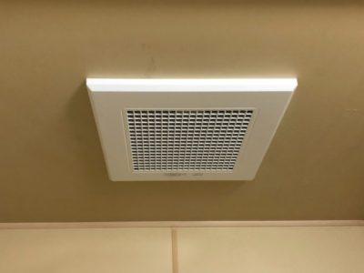 浴室換気扇交換工事 三菱 V-10ZJ12 東京都千代田区