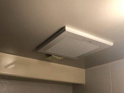 2室用換気扇交換工事 三菱 VD-15ZFC12 神奈川県川崎市