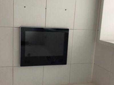 浴室TV交換工事 ノーリツ YTVD-1203W-RC 東京都豊島区