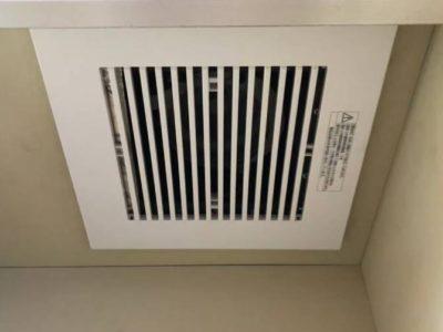 退去時のリフォームも! キッチン換気扇交換工事<Panasonic  FY-17B7>東京都中央区